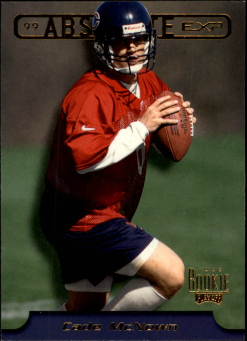 1999 Absolute EXP #12 Cade McNown RC