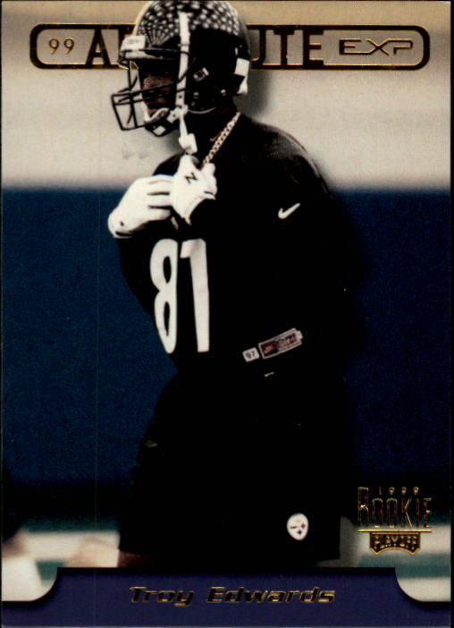 1999 Absolute EXP #13 Troy Edwards RC