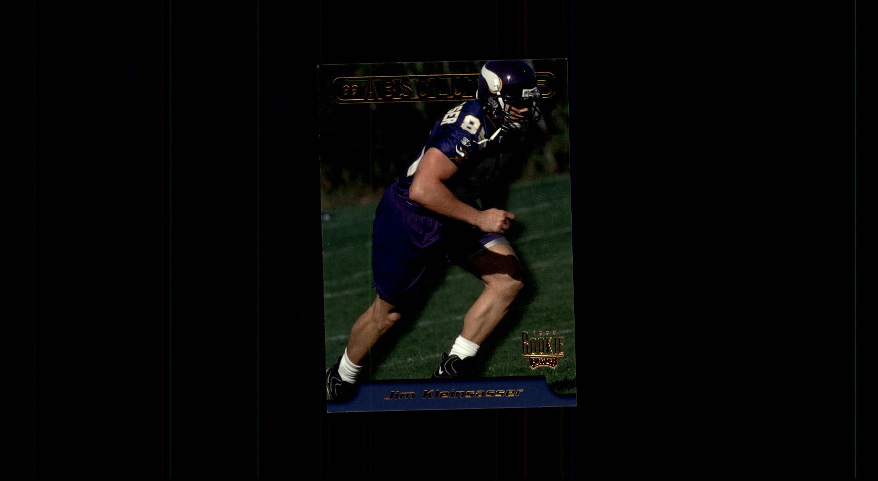 1999 Absolute EXP #17 Jim Kleinsasser RC