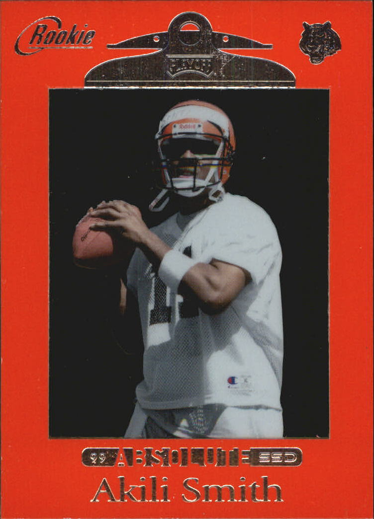 1999 Absolute SSD Red #163 Akili Smith