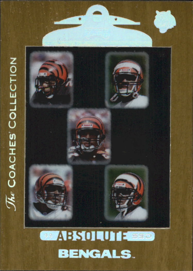 1999 Absolute SSD Coaches Collection Silver #136 Bengals CL
