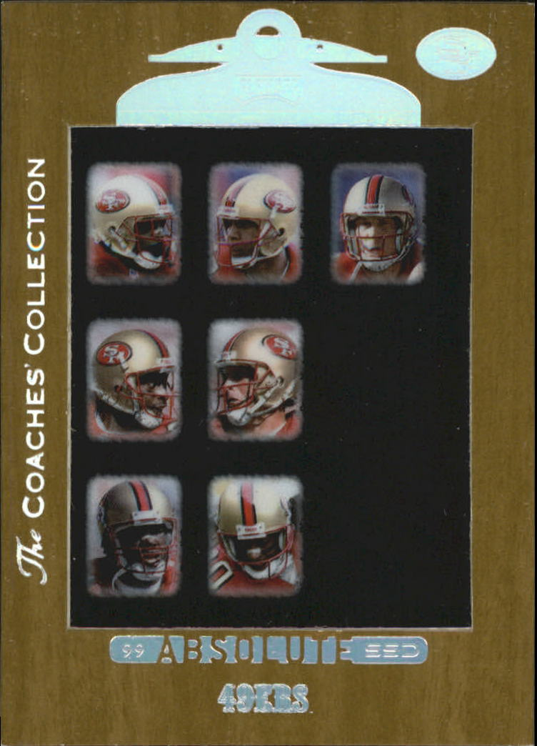 1999 Absolute SSD Coaches Collection Silver #155 49ers CL