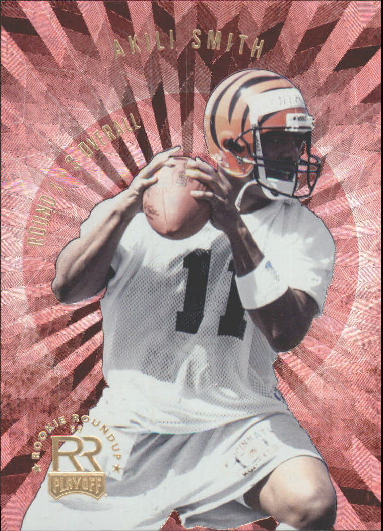 1999 Absolute SSD Rookie Roundup #RR14 Akili Smith
