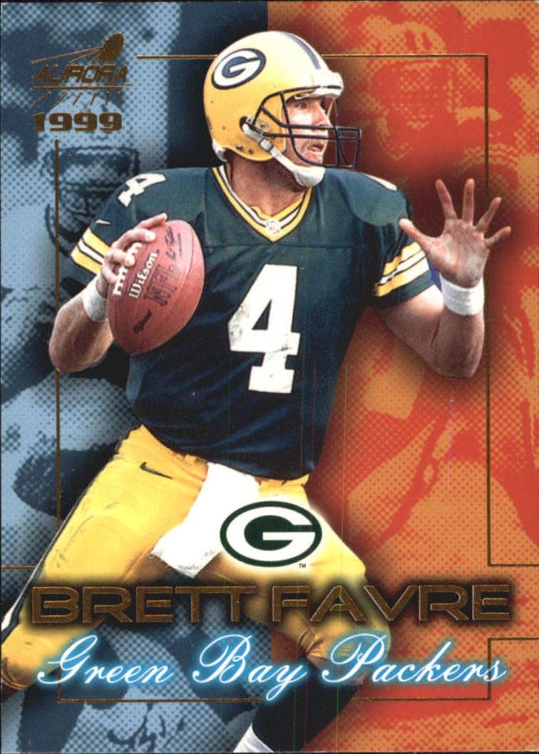 1999 Aurora Championship Fever #8 Brett Favre