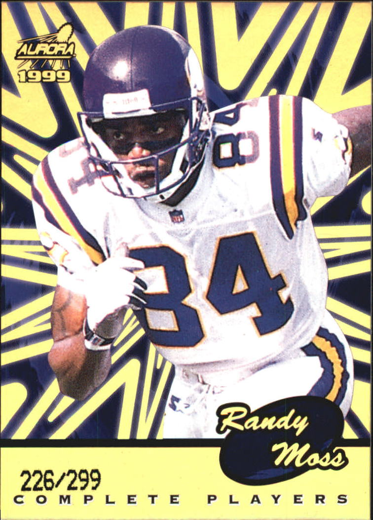 1999 Aurora Complete Players #7 Randy Moss
