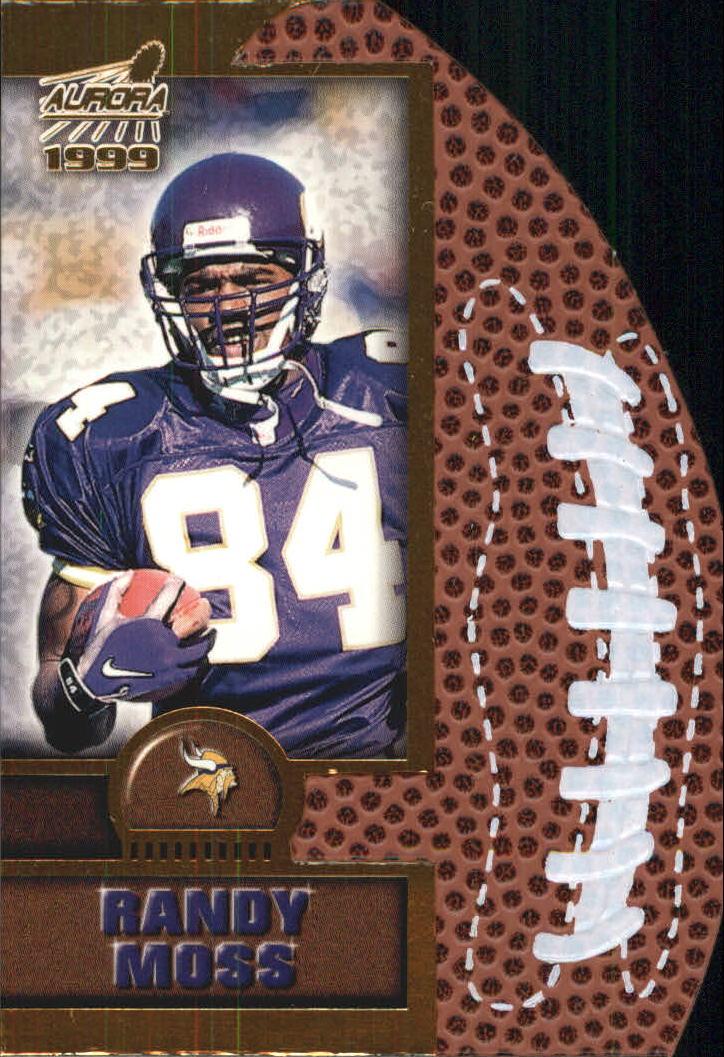 1999 Aurora Leather Bound #12 Randy Moss