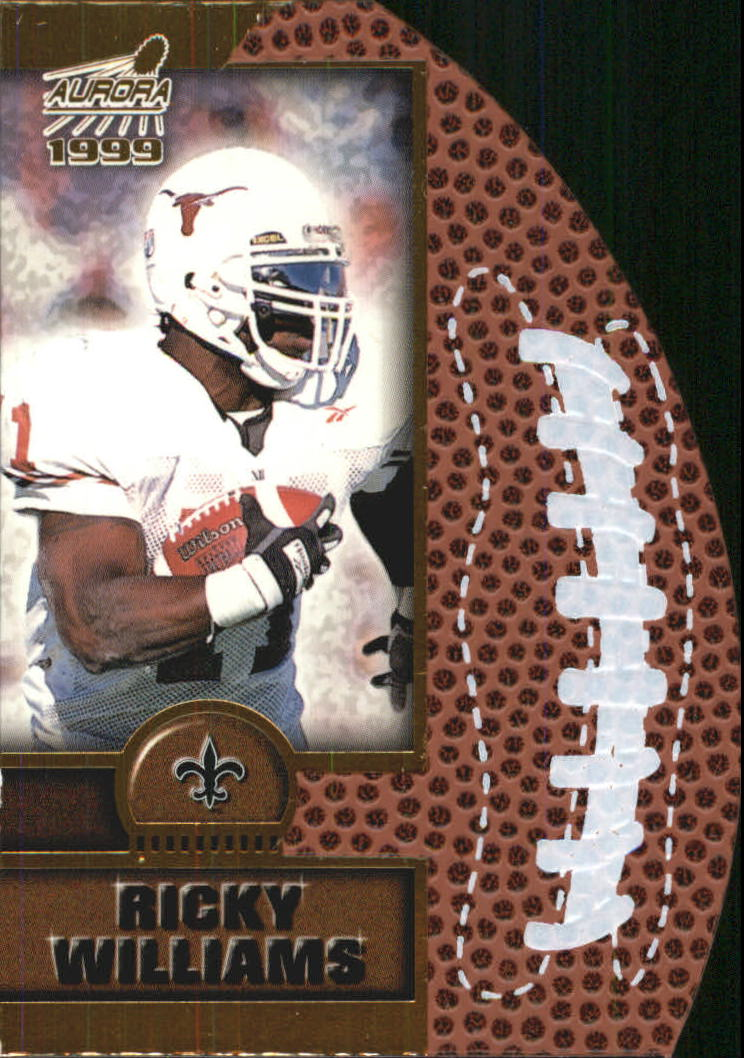 1999 Aurora Leather Bound #14 Ricky Williams