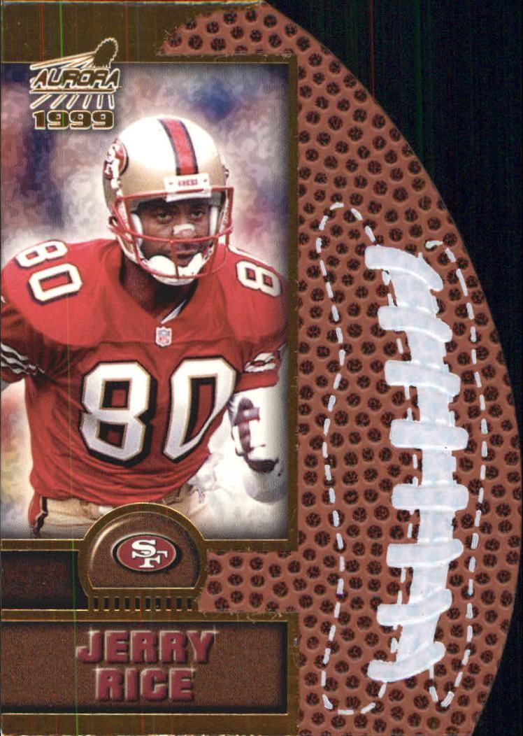 1999 Aurora Leather Bound #17 Jerry Rice