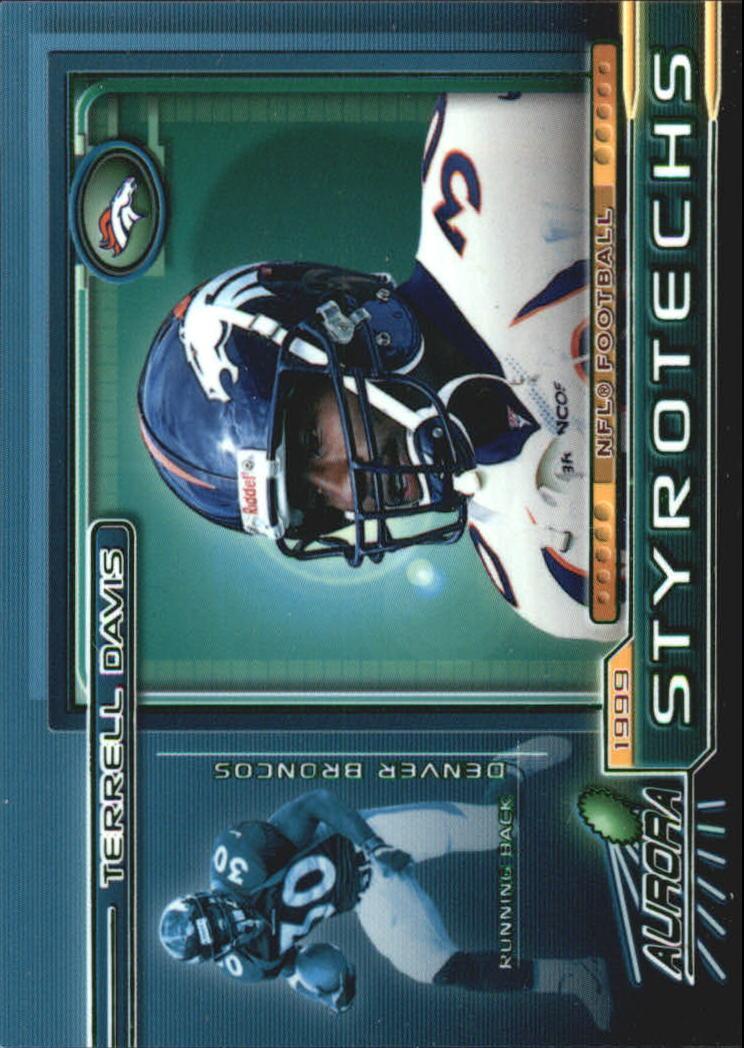 1999 Aurora Styrotechs #6 Terrell Davis
