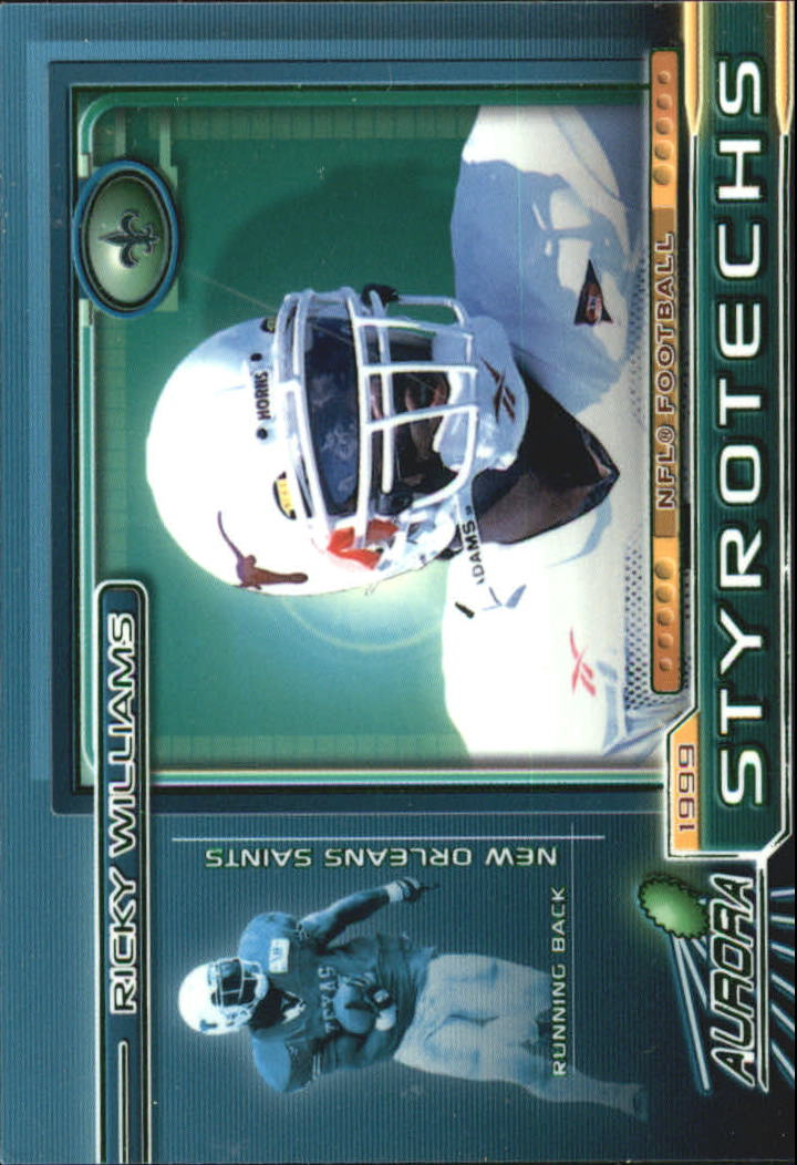 1999 Aurora Styrotechs #14 Ricky Williams