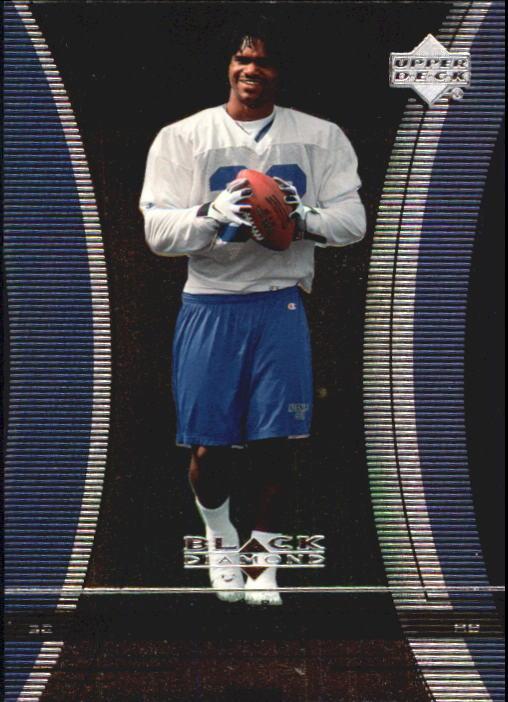1999 Black Diamond #115 Edgerrin James RC