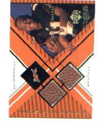 1999 Black Diamond A Piece of History Double #AS Akili Smith H