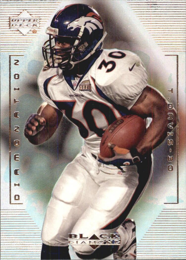 1999 Black Diamond Diamonation #D3 Terrell Davis