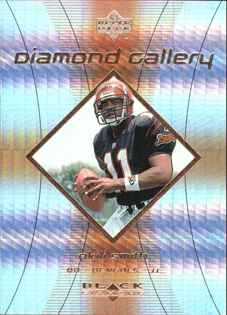 1999 Black Diamond Gallery #G1 Akili Smith