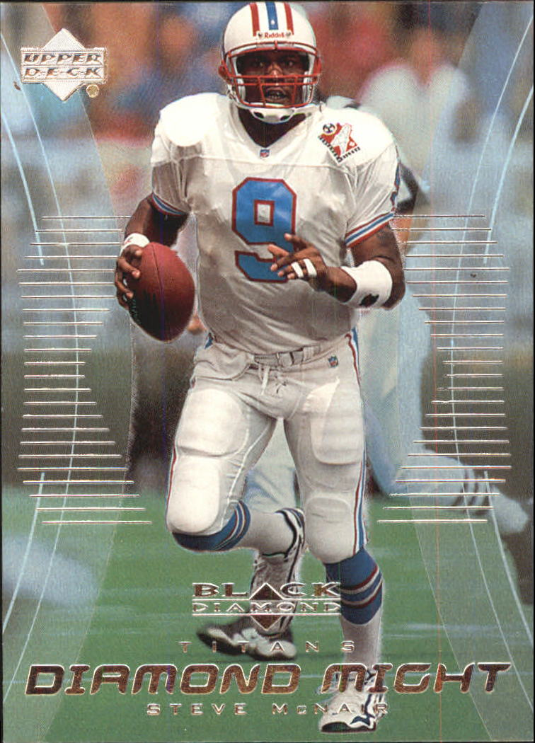 1999 Black Diamond Might #DM2 Steve McNair