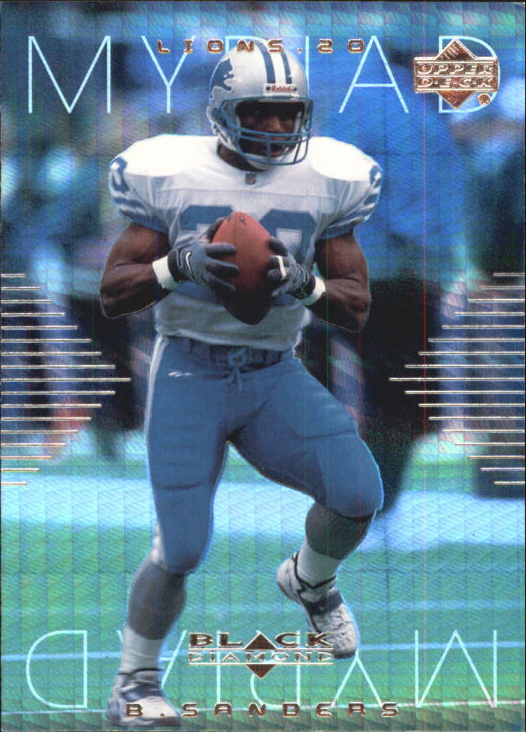 1999 Black Diamond Myriad #M1 Barry Sanders