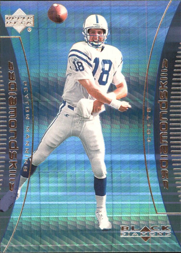 1999 Black Diamond Skills #S8 Peyton Manning