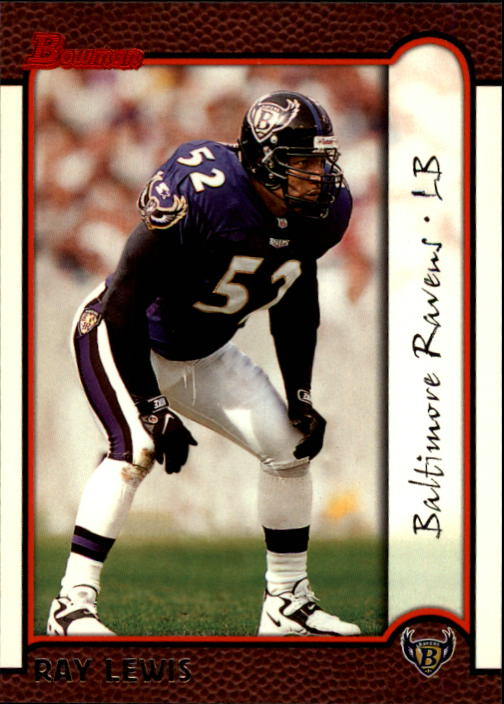 1999 Bowman #27 Ray Lewis