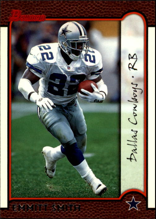 1999 Bowman #40 Emmitt Smith