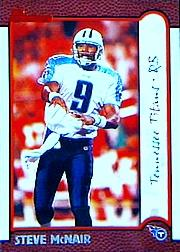 1999 Bowman #62 Steve McNair