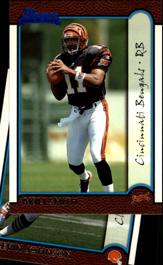 1999 Bowman #156 Akili Smith RC