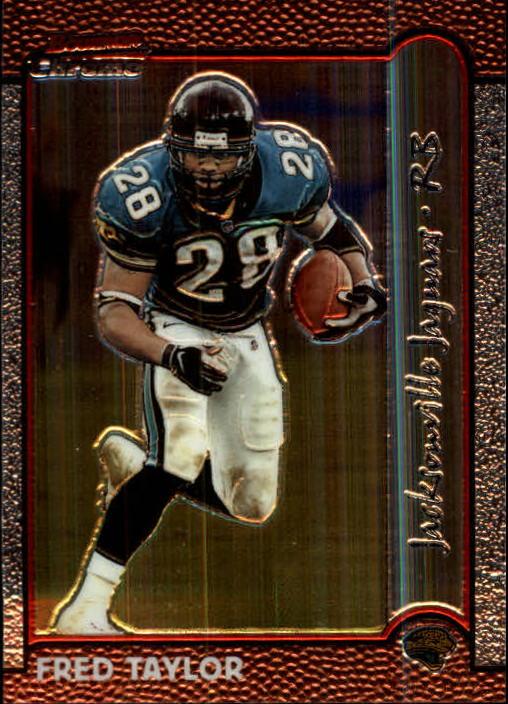1999 Bowman Chrome #80 Fred Taylor