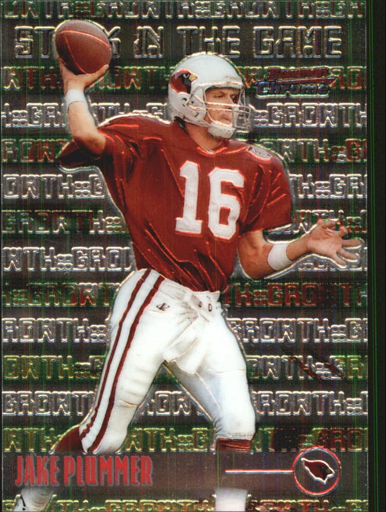 1999 Bowman Chrome Stock in the Game #S8 Jake Plummer