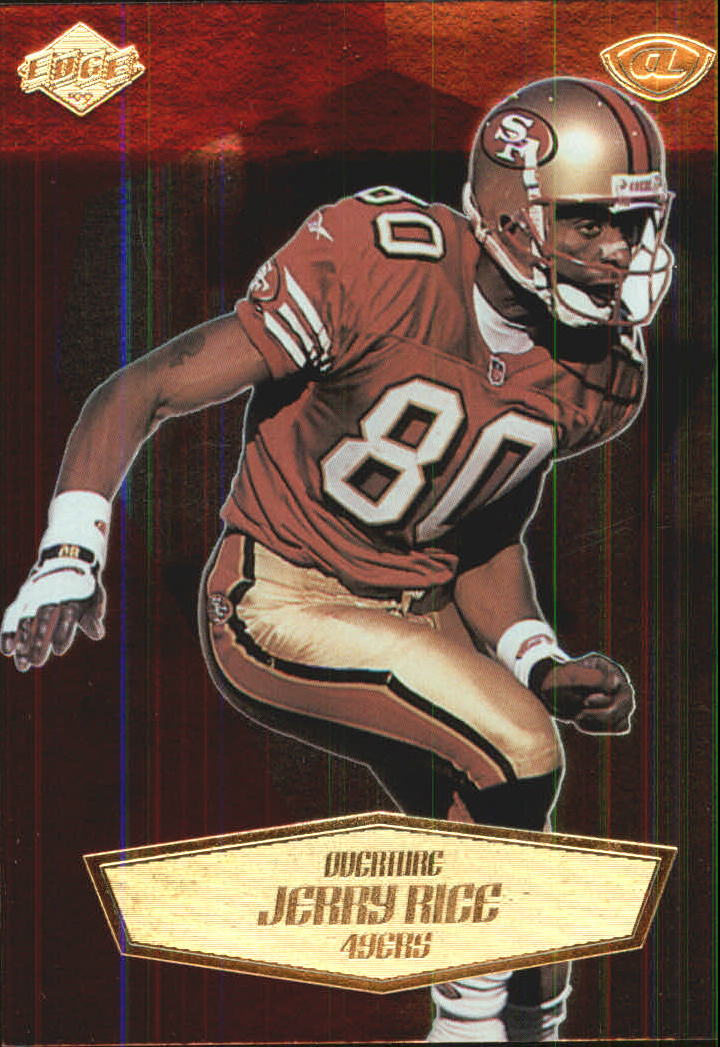 1999 Collector's Edge Advantage Overture #8 Jerry Rice
