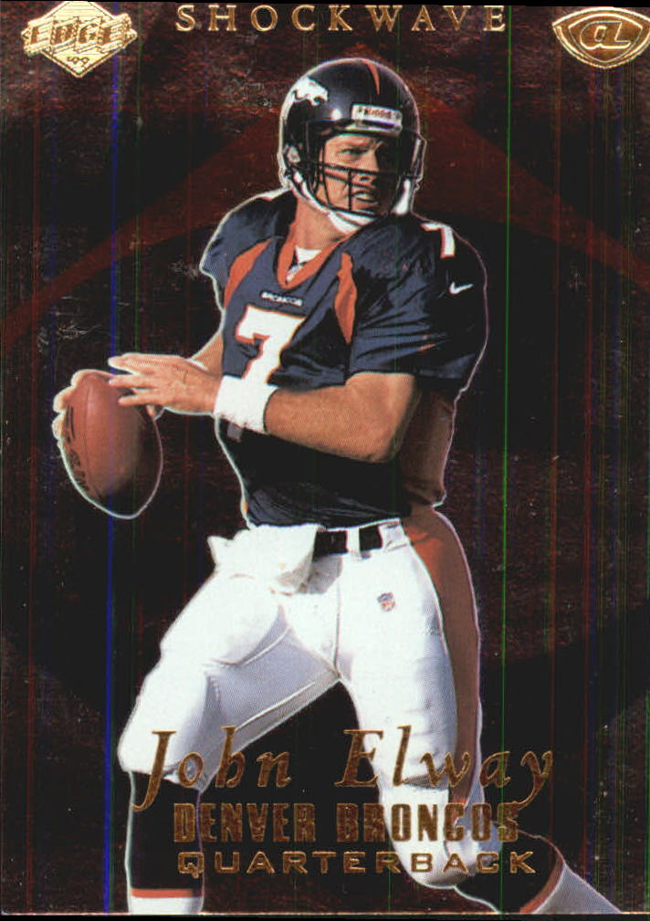 1999 Collector's Edge Advantage Shockwaves #SW7 John Elway