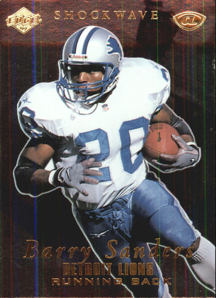 1999 Collector's Edge Advantage Shockwaves #SW8 Barry Sanders