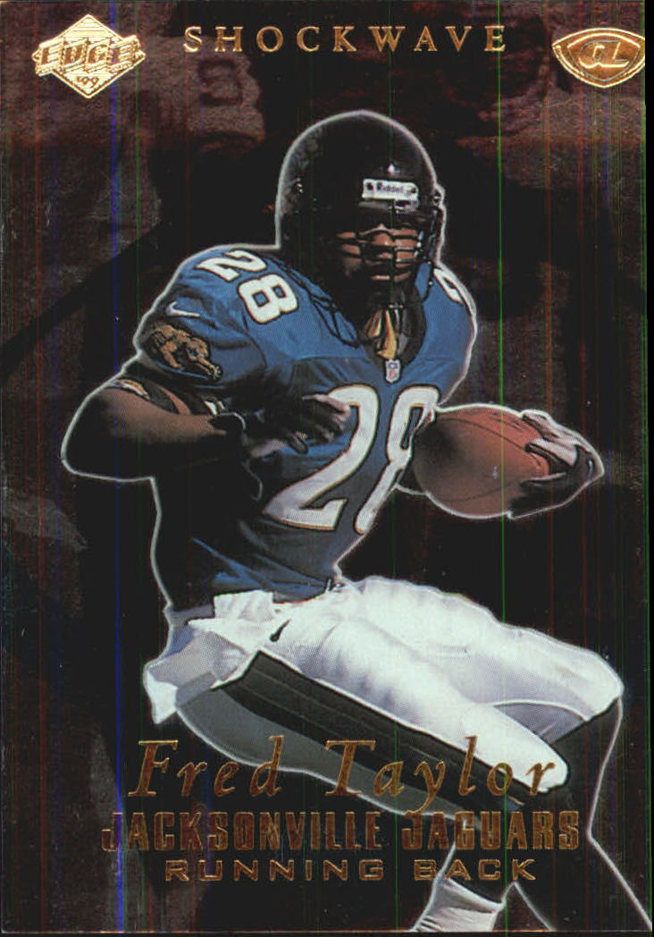 1999 Collector's Edge Advantage Shockwaves #SW12 Fred Taylor