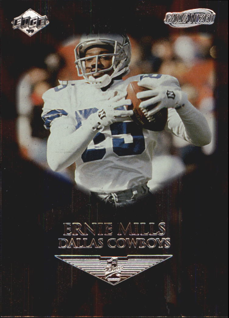 1999 Collector's Edge First Place Galvanized #43 Ernie Mills
