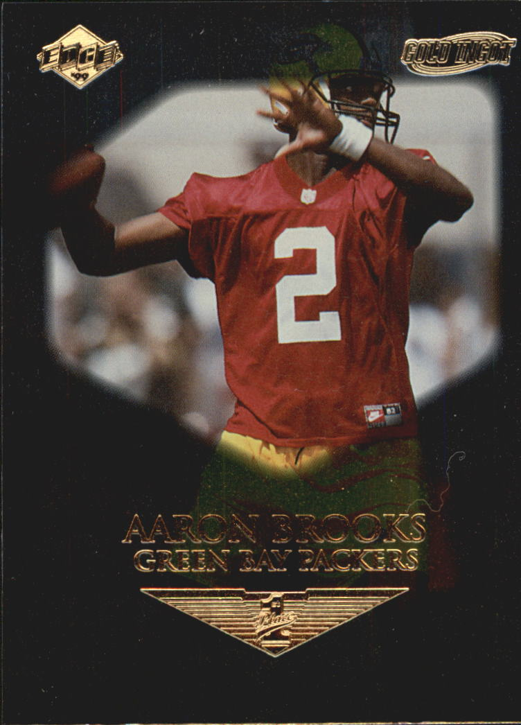 1999 Collector's Edge First Place Gold Ingot #168 Aaron Brooks