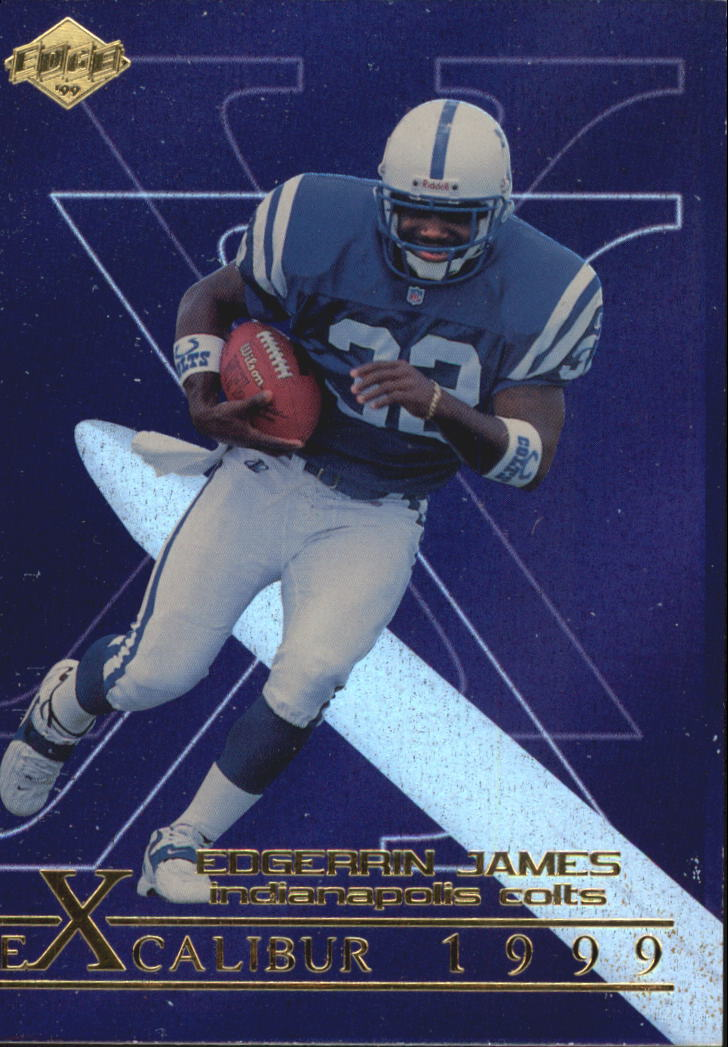 1999 Collector's Edge First Place Excalibur #X5 Edgerrin James