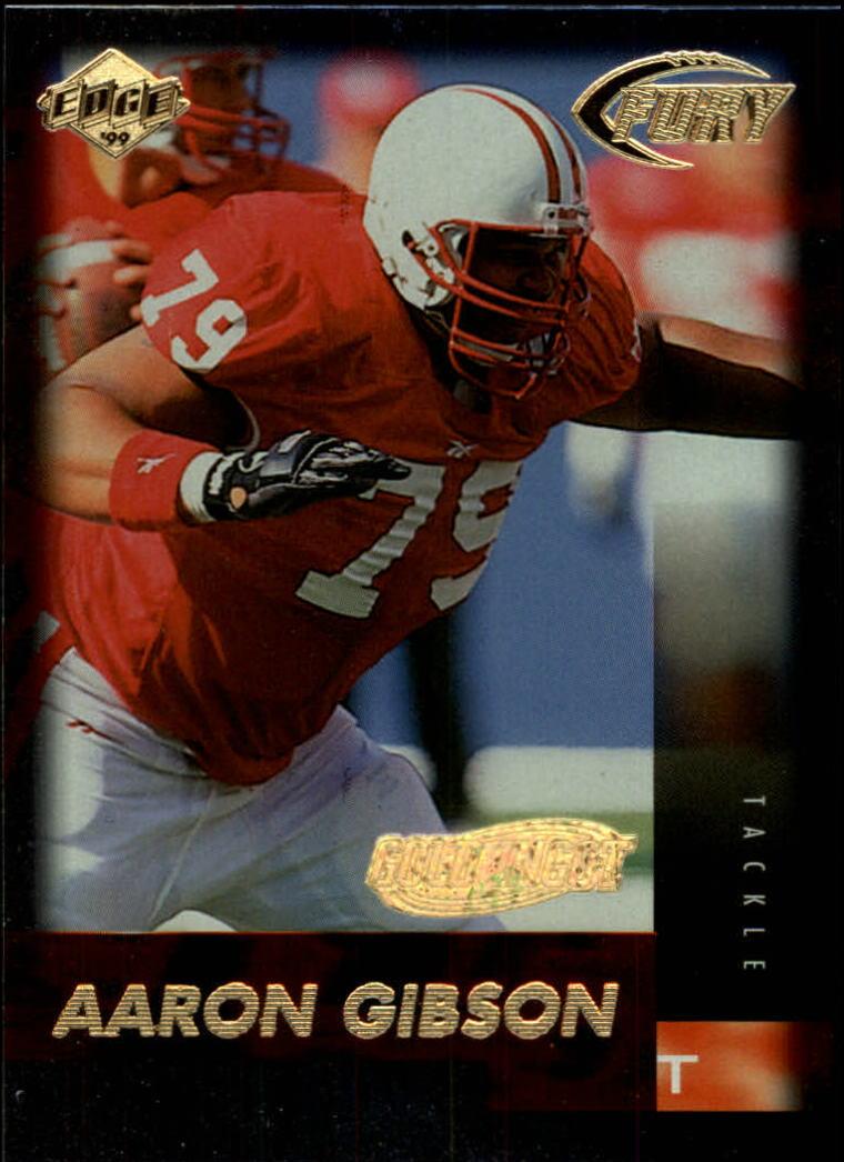 1999 Collector's Edge Fury Gold Ingot #168 Aaron Gibson