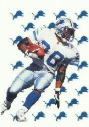 1999 Collector's Edge Fury Game Ball #BS Barry Sanders