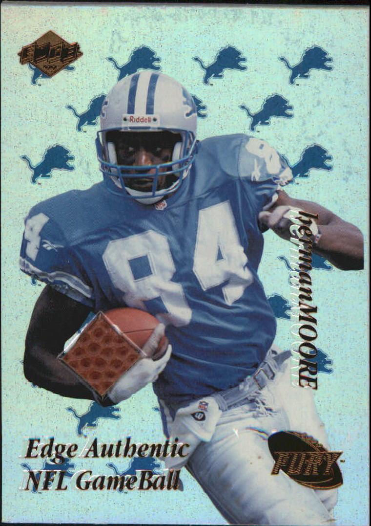 1999 Collector's Edge Fury Game Ball #HM Herman Moore