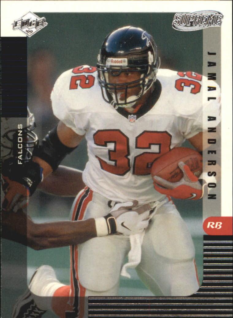 1999 Collector's Edge Supreme #7 Jamal Anderson