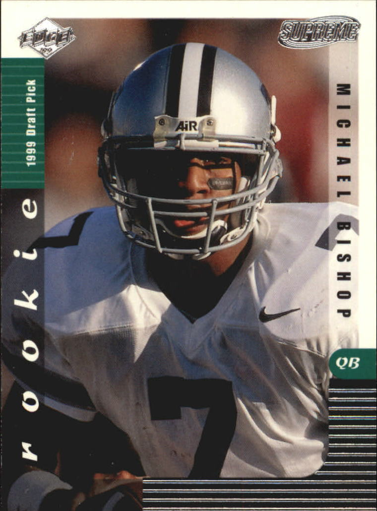 1999 Collector's Edge Supreme #135 Michael Bishop RC