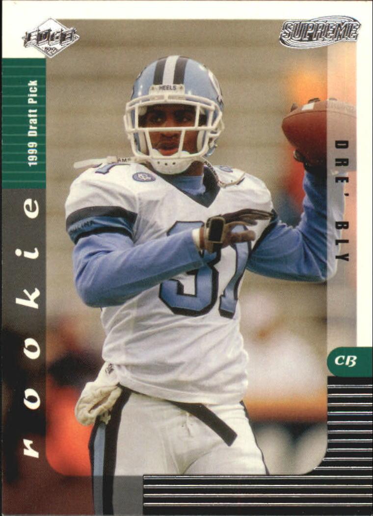 1999 Collector's Edge Supreme #136 Dre Bly RC