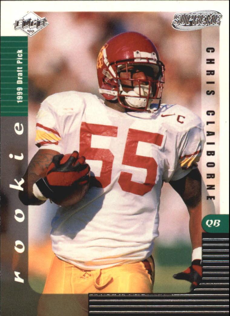 1999 Collector's Edge Supreme #142 Chris Claiborne RC