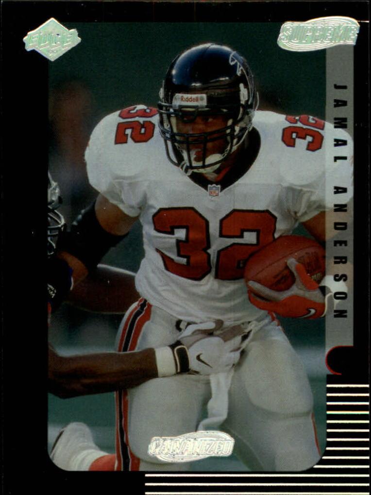1999 Collector's Edge Supreme Galvanized #7 Jamal Anderson