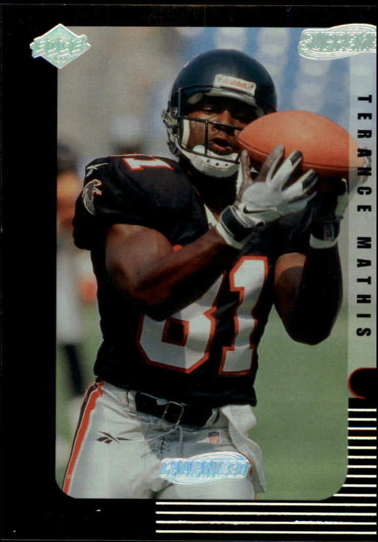 1999 Collector's Edge Supreme Galvanized #10 Terence Mathis