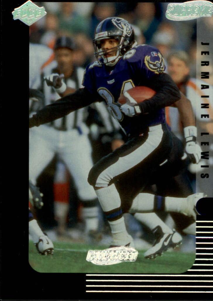 1999 Collector's Edge Supreme Galvanized #13 Jermaine Lewis