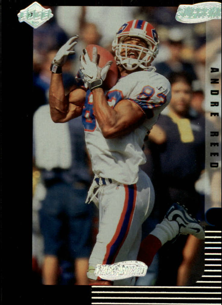 1999 Collector's Edge Supreme Galvanized #17 Andre Reed