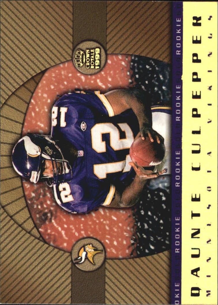 1999 Crown Royale Rookie Gold #13 Daunte Culpepper