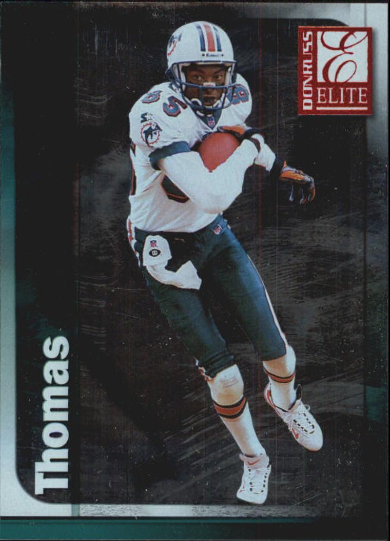 1999 Donruss Elite #76 Lamar Thomas