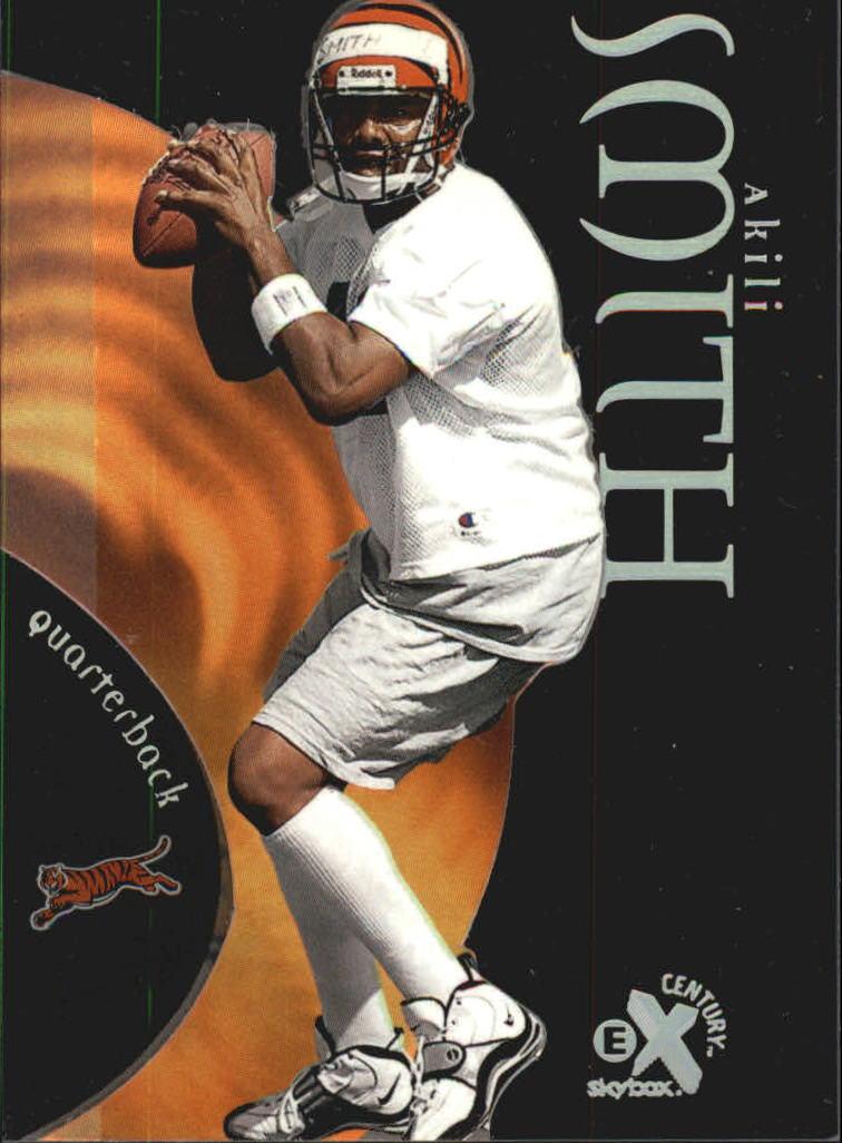 1999 E-X Century #71 Akili Smith RC