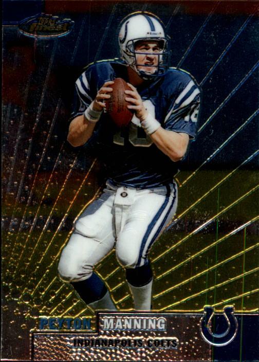 1999 Finest #1 Peyton Manning