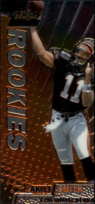 1999 Finest #149 Akili Smith RC